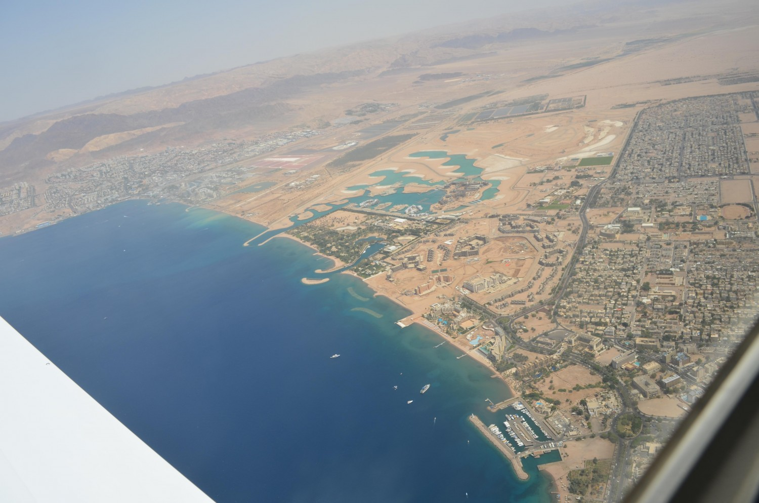 Aqaba vs. Eilat (One City Divided By A Wall)
