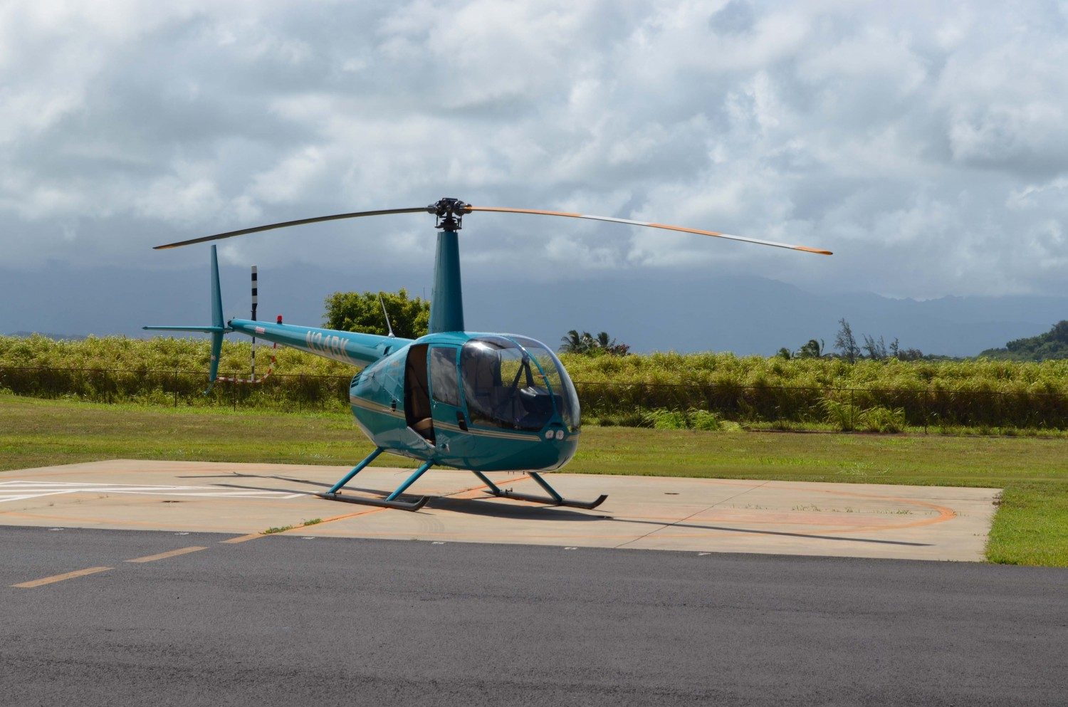 Our Robinson R44 (N34BK)