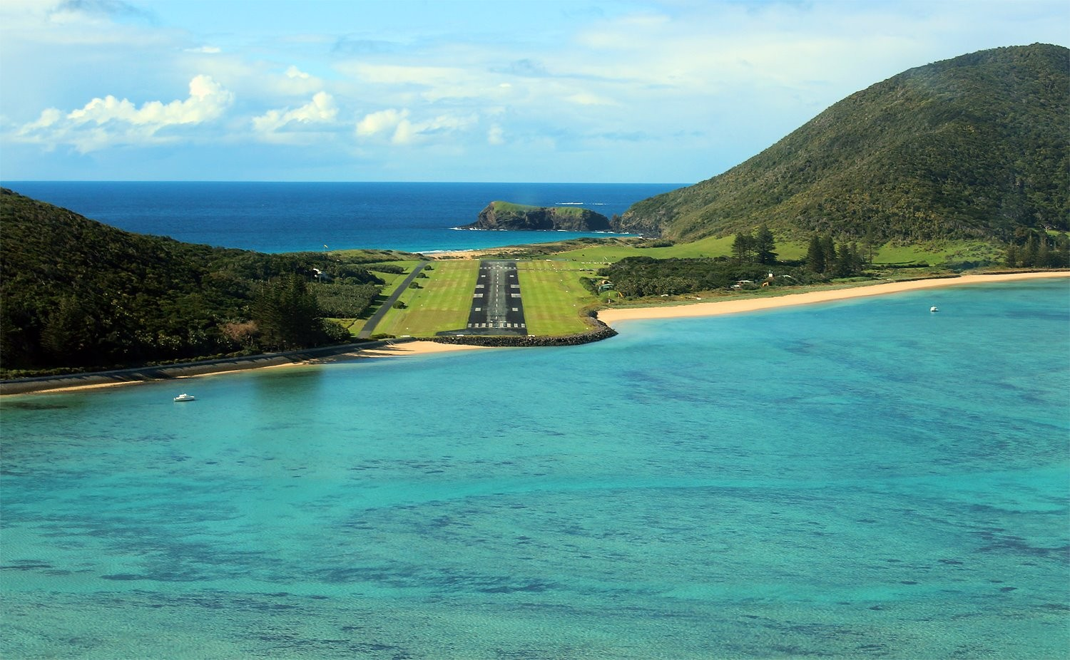 Landing at Lord Howe Island